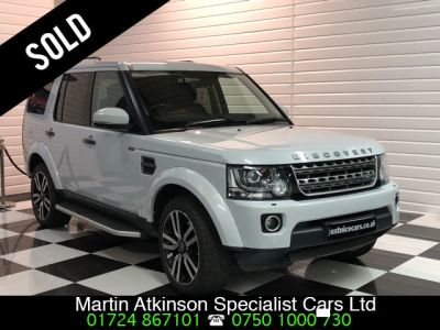 Land Rover Discovery 3.0 SE Commercial SDV6 Auto Panel Van Diesel Glacier White MetallicLand Rover Discovery 3.0 SE Commercial SDV6 Auto Panel Van Diesel Glacier White Metallic at Martin Atkinson Cars Scunthorpe