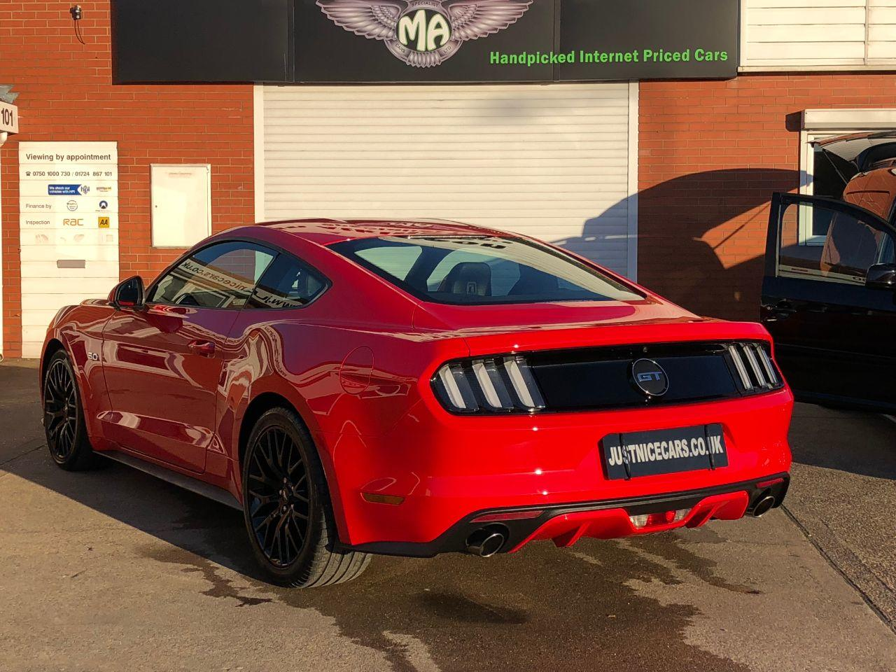 Ford Mustang 5.0 V8 GT Manual 416BHP Coupe Petrol Race Red