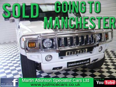 Hummer H2 0.1 6.2 SUPER CHARGER 4 X 4 Petrol Bright WhiteHummer H2 0.1 6.2 SUPER CHARGER 4 X 4 Petrol Bright White at Martin Atkinson Cars Scunthorpe