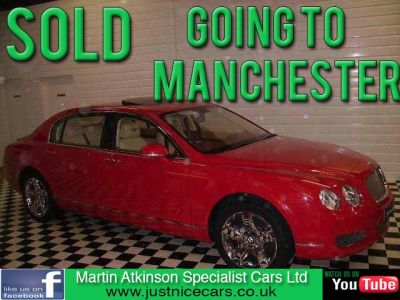 Bentley Continental Flying Spur 6.0 W12 Saloon Petrol RedBentley Continental Flying Spur 6.0 W12 Saloon Petrol Red at Martin Atkinson Cars Scunthorpe
