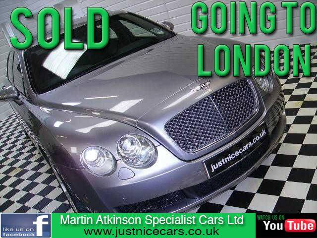 Bentley Continental 6.0 FLYING SPUR W12 Saloon Petrol Tempest Silver