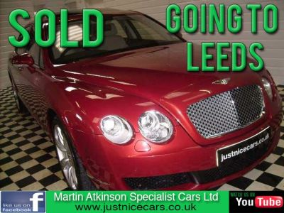 Bentley Continental 6.0 Flying Spur W12 ~6,800 MILES~ Saloon Petrol Pearl RedBentley Continental 6.0 Flying Spur W12 ~6,800 MILES~ Saloon Petrol Pearl Red at Martin Atkinson Cars Scunthorpe