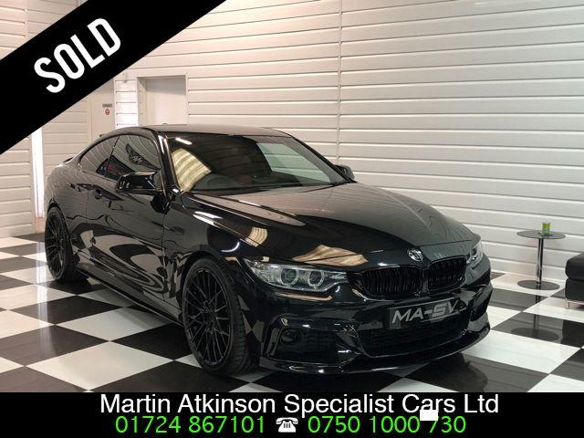 BMW 4 Series 2.0 420i M Sport 2dr Auto ~ M PERFORMANCE BODYKIT ~ Coupe Petrol Sapphire Black