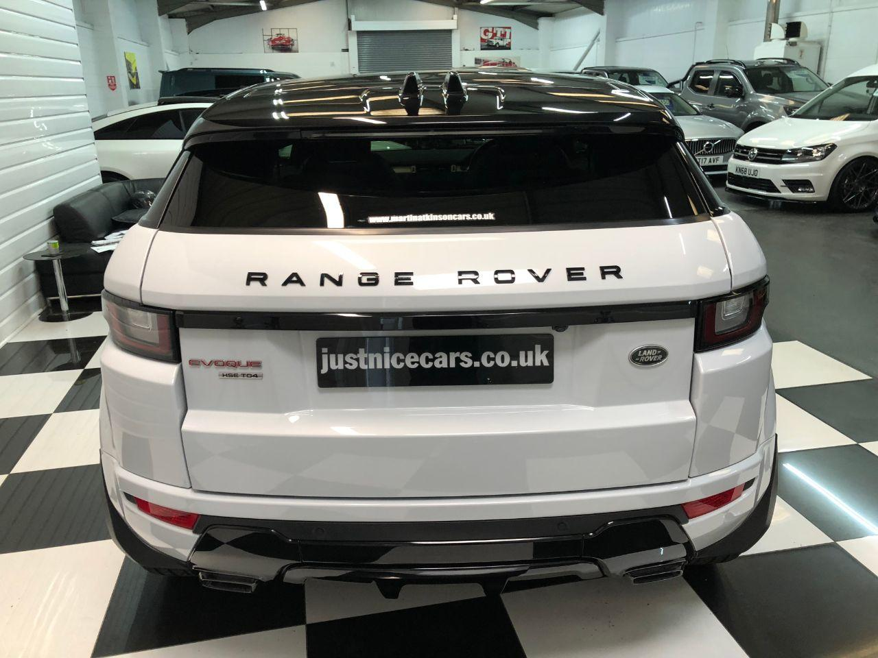 Land Rover Range Rover Evoque 2.0 TD4 HSE Dynamic 3dr Auto Coupe Diesel Yulong White