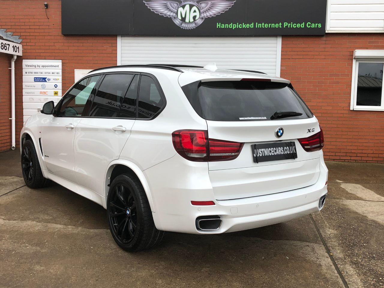 BMW X5 3.0 xDrive40d M Sport 5dr Auto 7 Seater Estate Diesel Mineral White