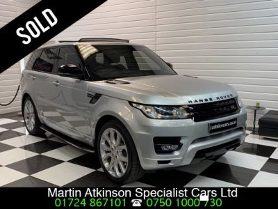 Land Rover Range Rover Sport 4.4 SDV8 Autobiography Dynamic 5dr Auto Estate Diesel Indus SilverLand Rover Range Rover Sport 4.4 SDV8 Autobiography Dynamic 5dr Auto Estate Diesel Indus Silver at Martin Atkinson Cars Scunthorpe