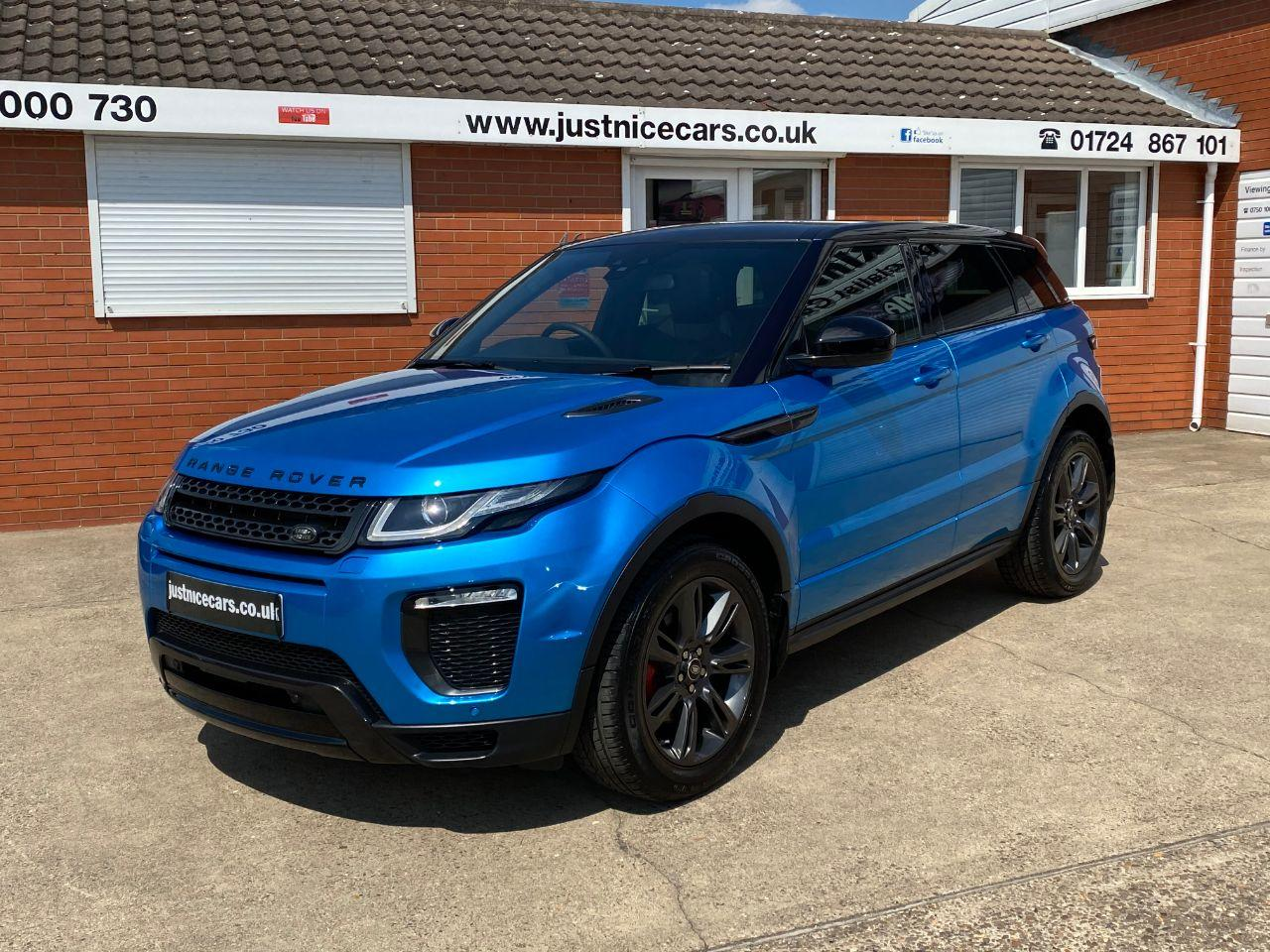 Land Rover Range Rover Evoque 2.0 TD4 Landmark 5dr Automatic 4 wheel Drive Estate Diesel Moraine Blue