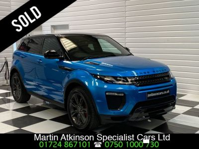 Land Rover Range Rover Evoque 2.0 TD4 Landmark 5dr Automatic 4 wheel Drive Estate Diesel Moraine BlueLand Rover Range Rover Evoque 2.0 TD4 Landmark 5dr Automatic 4 wheel Drive Estate Diesel Moraine Blue at Martin Atkinson Cars Scunthorpe