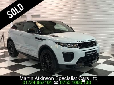 Land Rover Range Rover Evoque 2.0 TD4 HSE Dynamic 3dr Auto Coupe Diesel Yulong WhiteLand Rover Range Rover Evoque 2.0 TD4 HSE Dynamic 3dr Auto Coupe Diesel Yulong White at Martin Atkinson Cars Scunthorpe