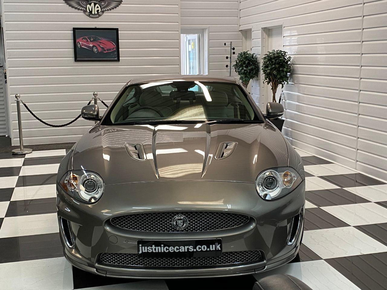 Jaguar XK 5.0 V8 Supercharged R 2dr Auto Coupe Petrol Vapour Grey Metallic