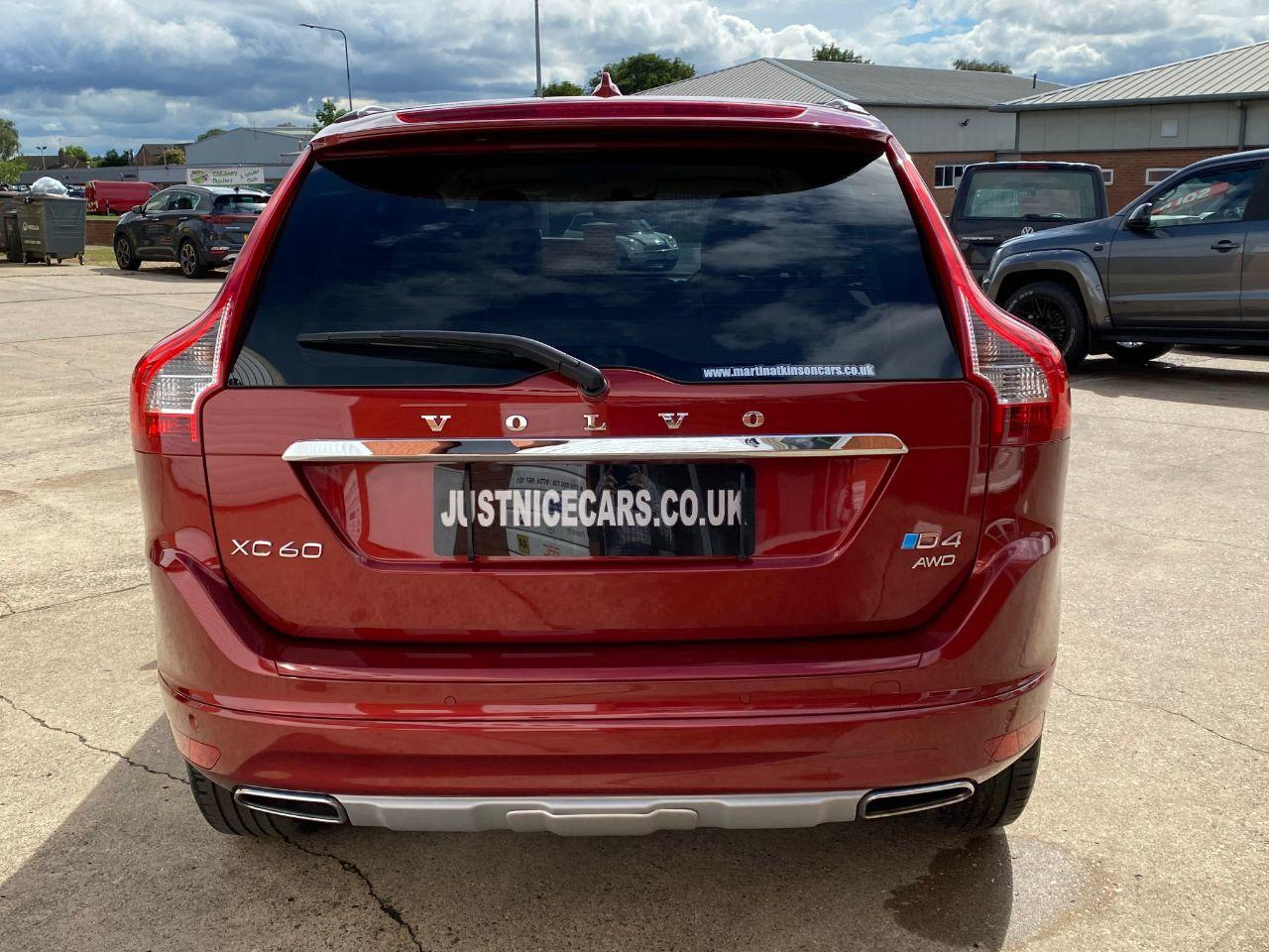 Volvo XC60 2.4 D4 SE Lux Nav 190BHP 5dr AWD Geartronic Automatic Estate Diesel Flamenco Red Metallic