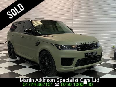 Land Rover Range Rover Sport 3.0 SDV6 HSE Dynamic 5dr Auto Estate Diesel Khaki Green WrapLand Rover Range Rover Sport 3.0 SDV6 HSE Dynamic 5dr Auto Estate Diesel Khaki Green Wrap at Martin Atkinson Cars Scunthorpe