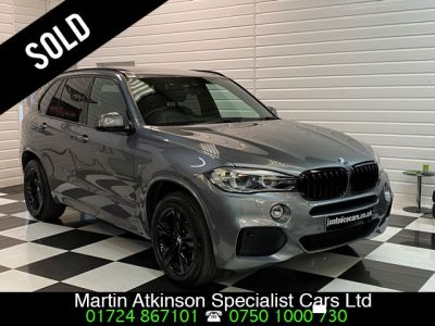 BMW X5 3.0 xDrive40d M Sport 5dr 7 Seater Estate Diesel Space Grey MetallicBMW X5 3.0 xDrive40d M Sport 5dr 7 Seater Estate Diesel Space Grey Metallic at Martin Atkinson Cars Scunthorpe