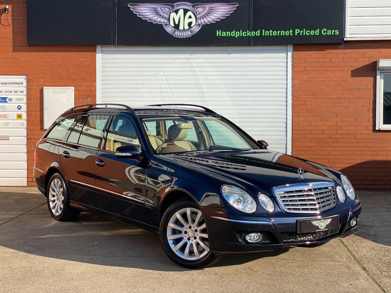 Mercedes-Benz E Class E500 5.5 V8 Elegance Estate Automatic Estate Petrol Tansanite Blue Metallic