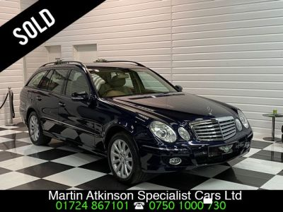 Mercedes-Benz E Class E500 5.5 V8 Elegance Estate Automatic Estate Petrol Tansanite Blue MetallicMercedes-Benz E Class E500 5.5 V8 Elegance Estate Automatic Estate Petrol Tansanite Blue Metallic at Martin Atkinson Cars Scunthorpe