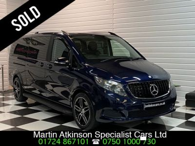 Mercedes-Benz V Class 2.1 V250 BlueTEC SE 5dr XLWB Extra Long Wheel Base MPV Diesel Cavansite Blue MetallicMercedes-Benz V Class 2.1 V250 BlueTEC SE 5dr XLWB Extra Long Wheel Base MPV Diesel Cavansite Blue Metallic at Martin Atkinson Cars Scunthorpe