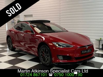 Tesla Model S 0.0 307kW 90kWh Dual Motor 5dr Auto Hatchback Electric Multicoat Red PaintworkTesla Model S 0.0 307kW 90kWh Dual Motor 5dr Auto Hatchback Electric Multicoat Red Paintwork at Martin Atkinson Cars Scunthorpe