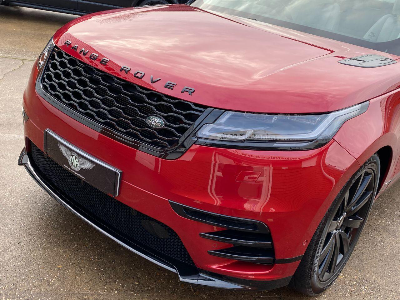 Land Rover Range Rover Velar 3.0 D300 R-Dynamic HSE 5dr Auto Estate Diesel Firenze Red/italian Racing Red Metallic