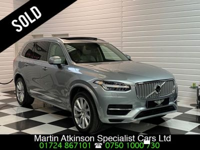 Volvo XC90 2.0 T8 Hybrid Inscription 5dr Geartronic Estate Petrol / Electric Hybrid Electric Premium Silver MetallicVolvo XC90 2.0 T8 Hybrid Inscription 5dr Geartronic Estate Petrol / Electric Hybrid Electric Premium Silver Metallic at Martin Atkinson Cars Scunthorpe