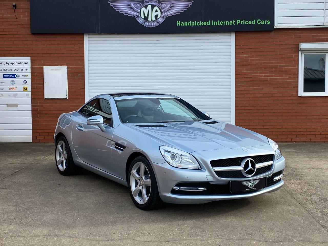 Mercedes-Benz SLK 2.1 SLK250 CDi BLUEEFFICIENCY 7G-Tronic Convertible Diesel Diamond Silver Blue Metallic