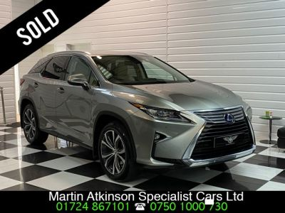 Lexus RX 450h 3.5 V6 Luxury 5dr CVT Estate Petrol / Electric Hybrid Sonic Titanium MetallicLexus RX 450h 3.5 V6 Luxury 5dr CVT Estate Petrol / Electric Hybrid Sonic Titanium Metallic at Martin Atkinson Cars Scunthorpe