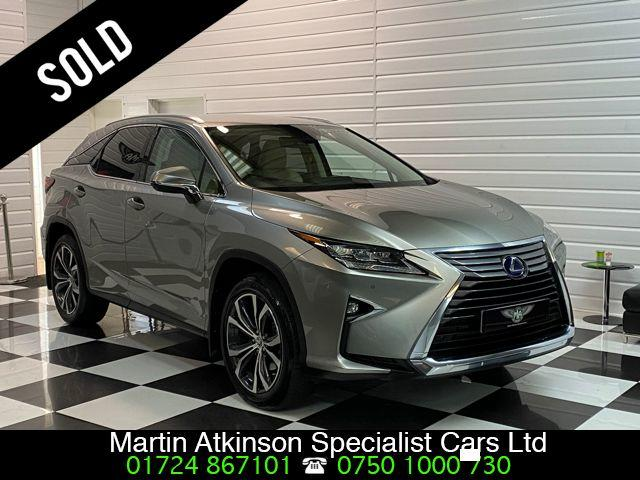 Lexus RX 450h 3.5 V6 Luxury 5dr CVT Estate Petrol / Electric Hybrid Sonic Titanium Metallic