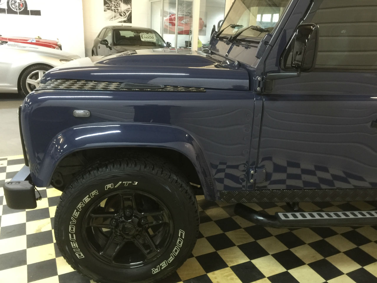 Land Rover Defender Station Wagon TDCi [2.2] 7 SEATER A/CON Four Wheel Drive Diesel Blue