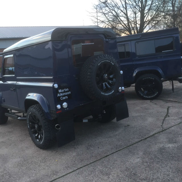 Second Hand Land Rover Defender Hard Top TDCi For Sale In