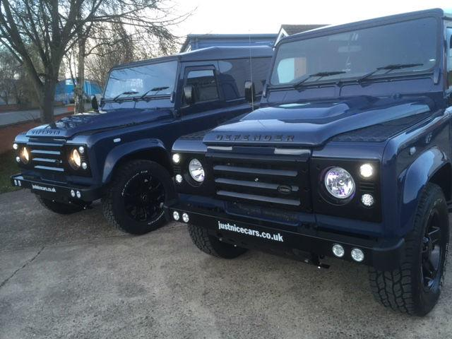 Land Rover Defender 2.4 Hard Top TDCi Four Wheel Drive Diesel Tamar Blue