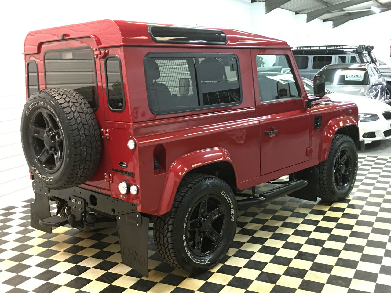Land Rover Defender 2.2 SOLD GOING TO PORTSMOUTH Four Wheel Drive Diesel Red