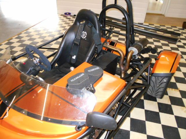 Westfield Mega 1.0 MEV ATOMIC R1 SINGLE SEATER Sports Petrol Copper Orange