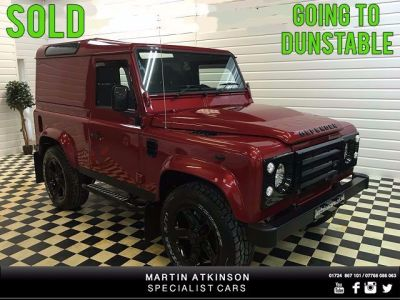 Land Rover Defender Hard Top TDCi [2.2] CONVERSION Four Wheel Drive Diesel RedLand Rover Defender Hard Top TDCi [2.2] CONVERSION Four Wheel Drive Diesel Red at Martin Atkinson Cars Scunthorpe