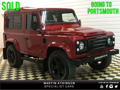 Land Rover Defender Hard Top TDCi [2.2] ~with rear windows~ Four Wheel Drive Diesel RedLand Rover Defender Hard Top TDCi [2.2] ~with rear windows~ Four Wheel Drive Diesel Red at Martin Atkinson Cars Scunthorpe
