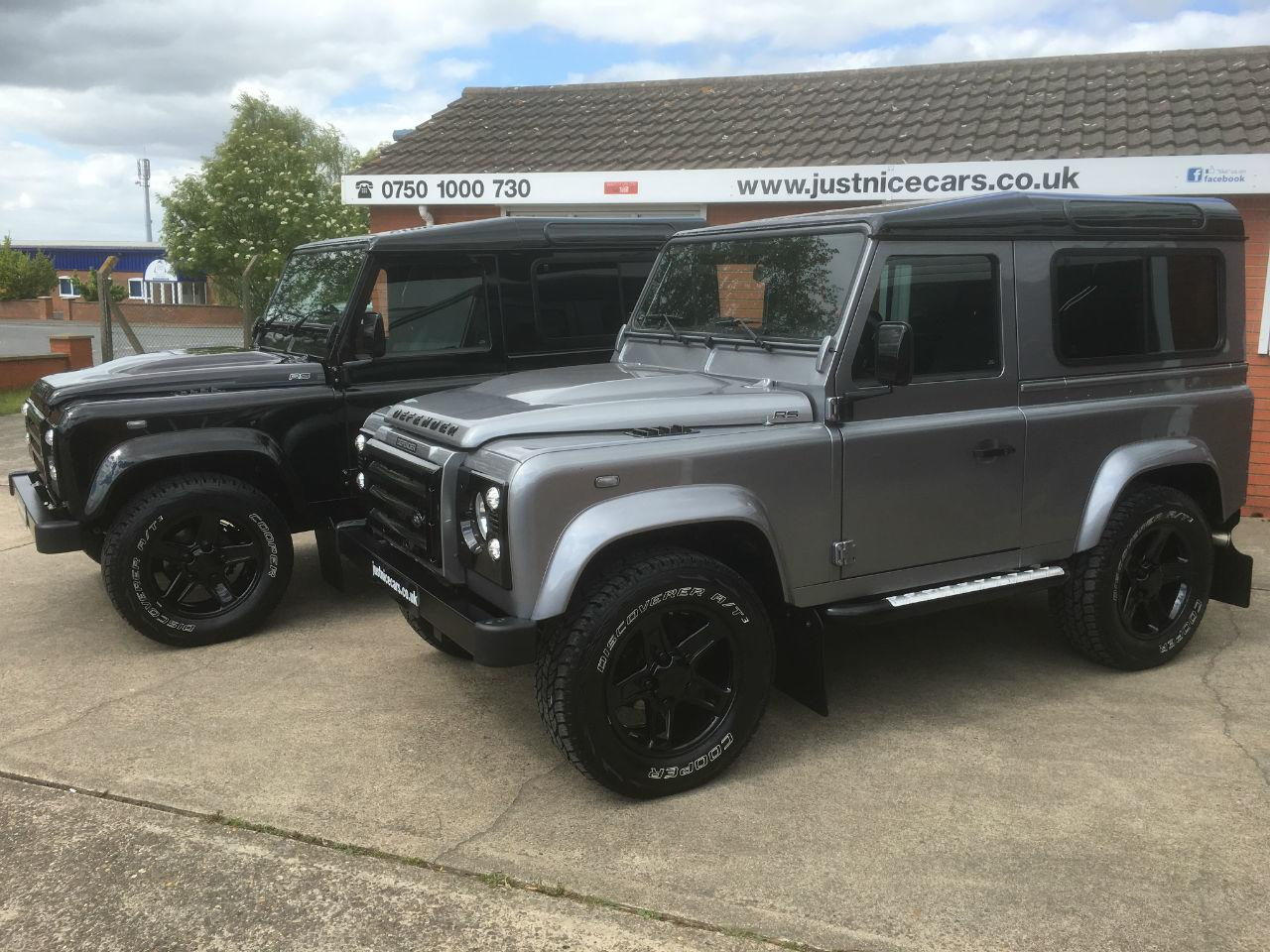 Land Rover Defender 2.2 SOLD GOING TO LONDON Four Wheel Drive Diesel Black