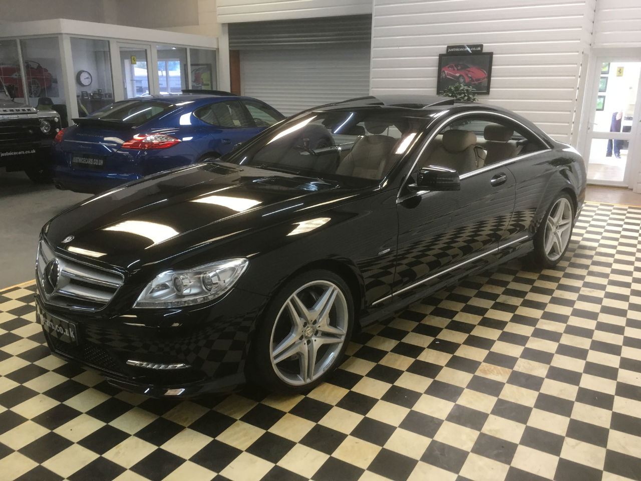 Mercedes-Benz CL CL500 4.7 V8 SOLD GOING TO ST HELENS Coupe Petrol Obsidian Black