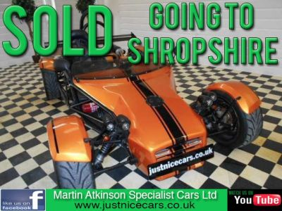 Westfield Mega 1.0 MEV ATOMIC R1 SINGLE SEATER Sports Petrol Copper OrangeWestfield Mega 1.0 MEV ATOMIC R1 SINGLE SEATER Sports Petrol Copper Orange at Martin Atkinson Cars Scunthorpe
