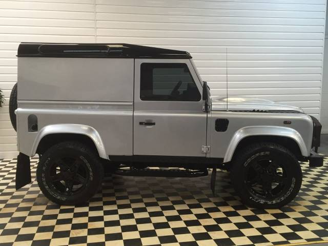 Land Rover Defender 2.2 SOLD GOING TO WATFORD Four Wheel Drive Diesel Indus Silver