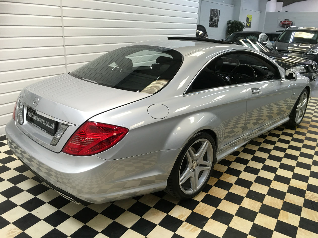Mercedes-Benz CL CL 500 4.7 V8 7G-TronicBlueEFFICIENCY COUPE Coupe Petrol Silver