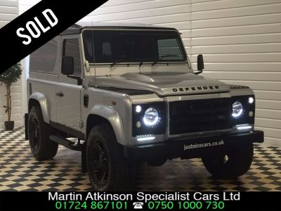 Land Rover Defender 2.2 SOLD GOING TO WATFORD Four Wheel Drive Diesel Indus SilverLand Rover Defender 2.2 SOLD GOING TO WATFORD Four Wheel Drive Diesel Indus Silver at Martin Atkinson Cars Scunthorpe