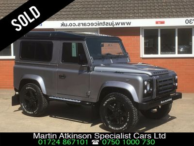 Land Rover Defender 2.2 90 SOLD GOING TO ITALY Estate Diesel GreyLand Rover Defender 2.2 90 SOLD GOING TO ITALY Estate Diesel Grey at Martin Atkinson Cars Scunthorpe