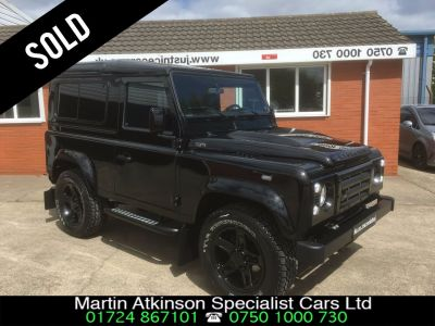 Land Rover Defender 2.2 SOLD GOING TO LONDON Four Wheel Drive Diesel BlackLand Rover Defender 2.2 SOLD GOING TO LONDON Four Wheel Drive Diesel Black at Martin Atkinson Cars Scunthorpe