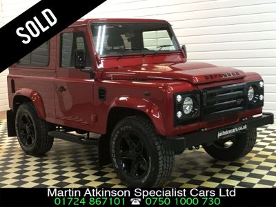 Land Rover Defender 2.2 SOLD GOING TO PORTSMOUTH Four Wheel Drive Diesel RedLand Rover Defender 2.2 SOLD GOING TO PORTSMOUTH Four Wheel Drive Diesel Red at Martin Atkinson Cars Scunthorpe