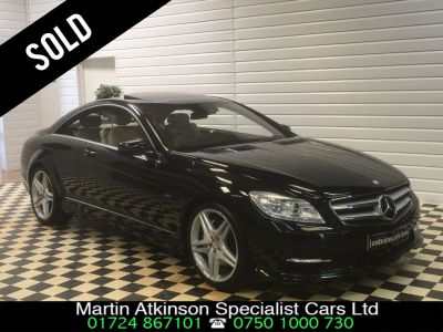Mercedes-Benz CL CL500 4.7 V8 SOLD GOING TO ST HELENS Coupe Petrol Obsidian BlackMercedes-Benz CL CL500 4.7 V8 SOLD GOING TO ST HELENS Coupe Petrol Obsidian Black at Martin Atkinson Cars Scunthorpe