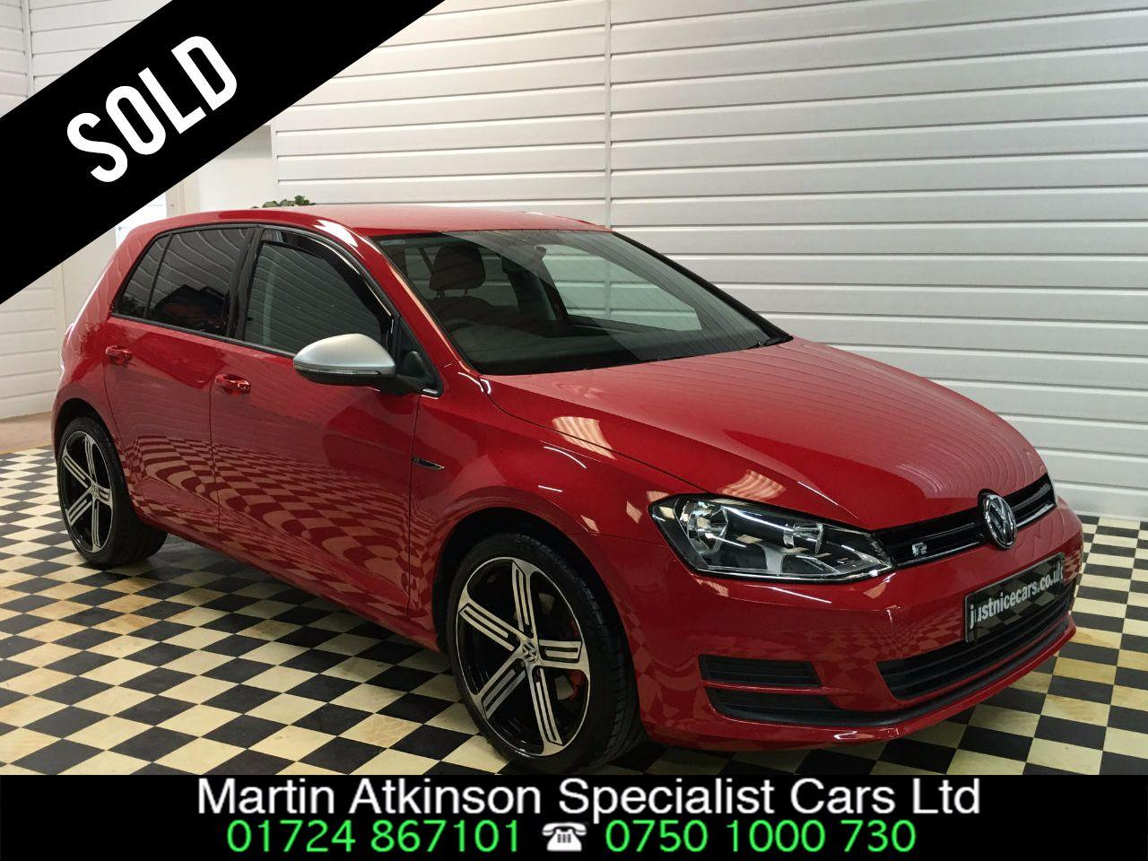 Volkswagen Golf 1.2 TSI S 5dr  R STYLING~SOLD GOING SCUNTHORPE~ Hatchback Petrol Red