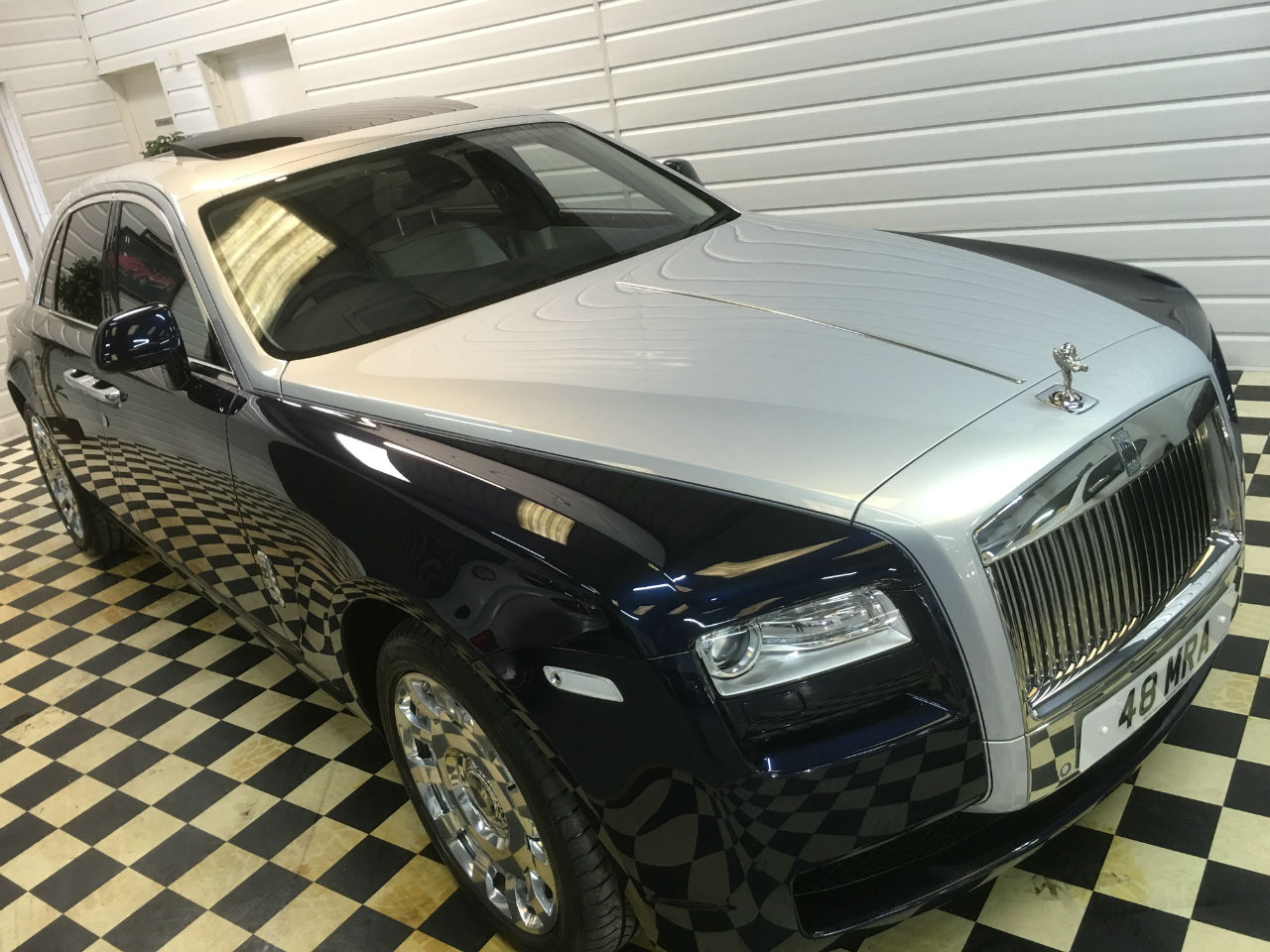 Rolls Royce Ghost 6.6 4dr Auto ~ SOLD ~ Saloon Petrol Blue / Silver