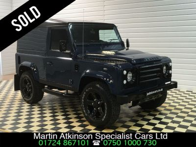 Land Rover Defender Hard Top 2.2 TDCi RS Edition Four Wheel Drive Diesel Tamar BlueLand Rover Defender Hard Top 2.2 TDCi RS Edition Four Wheel Drive Diesel Tamar Blue at Martin Atkinson Cars Scunthorpe