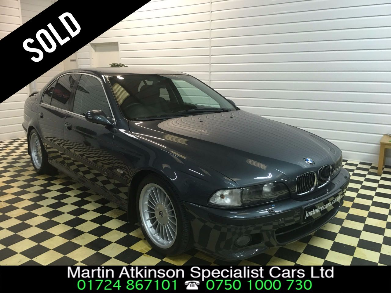 BMW 5 Series 3.5 535i V8 Manual Saloon Petrol Grey