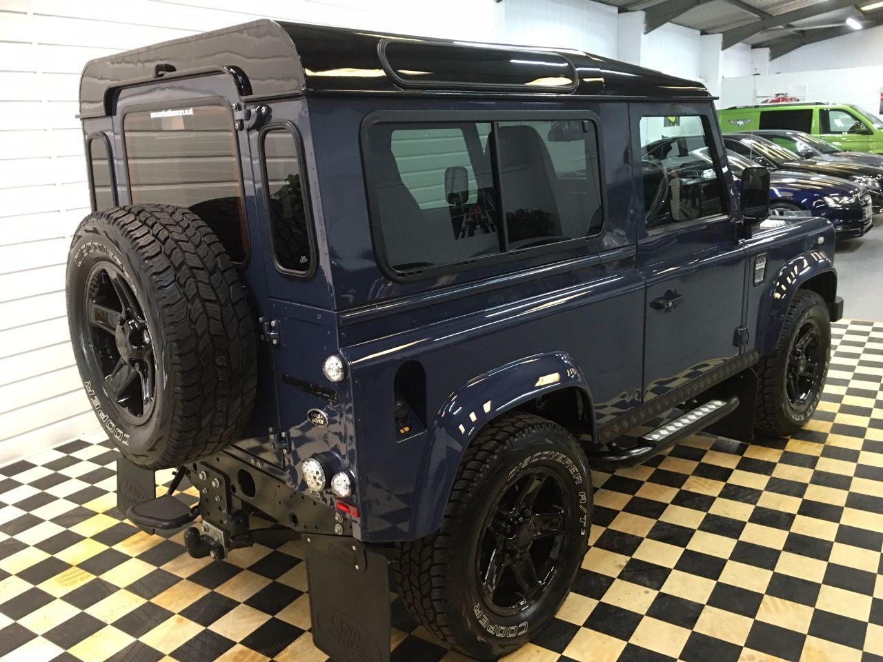 Land Rover Defender County Station Wagon TDCi [2.2] 4 SEATER Four Wheel Drive Diesel Tamar Blue