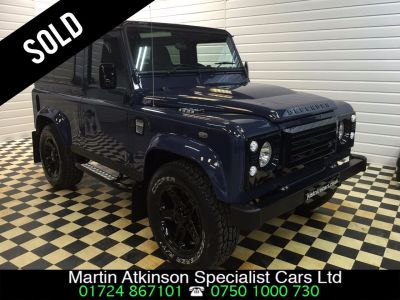 Land Rover Defender County Station Wagon TDCi [2.2] 4 SEATER Four Wheel Drive Diesel Tamar BlueLand Rover Defender County Station Wagon TDCi [2.2] 4 SEATER Four Wheel Drive Diesel Tamar Blue at Martin Atkinson Cars Scunthorpe
