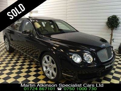 Bentley Continental Flying Spur 6.0 W12 4dr Auto Saloon Petrol BlackBentley Continental Flying Spur 6.0 W12 4dr Auto Saloon Petrol Black at Martin Atkinson Cars Scunthorpe